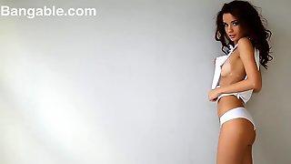 Ultra-Cute Nubile Style Models Dirty Dancing Dancing Bare Nude Striptease