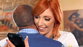 Watch As Two Redhead Preppies Suck And Fuck A Big Hard Cock