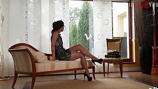 LETSDOEIT - Cuckold Dark-Hued Wifey Has Powerful Quivering Ejaculations