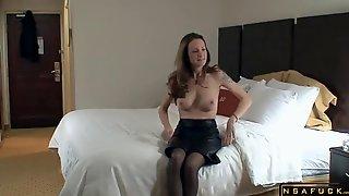 Ravishing Horny American Blonde Wife In