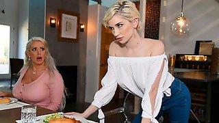Gorgeous Blonde Hottie Lena Paul Fucks With Her Girlfriend