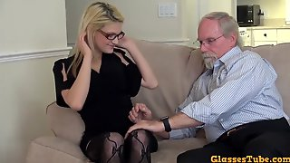 Old Fart Wants Her Tight Teen Pussy