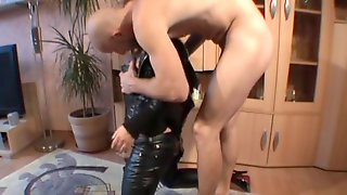 Black Leather Trousers Plow