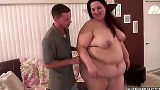 Latina Perverted Dude And His New BBW Sexmate