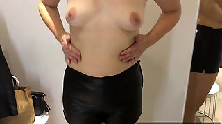 October 12, 2019 - In The Switching Room: Two Leather Cut-offs