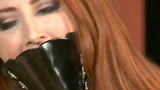 Fetish Kendra James Gets Vibrated In Sheer Nylons