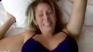 Son Molests Sleeping Mom & Fucks Her - Forced Sex, POV, MILF, Older Woman - Nikki Brooks