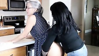 Grandmother Get Wedgied