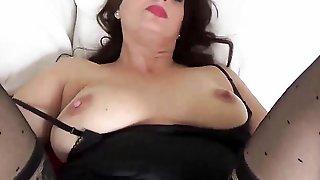 Satin Covered Treat By Diane Andrews POV MILF Taboo Sex