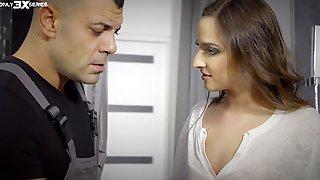 Amirah Adara And Zazie Skymm Pleasure One Lucky Guy. HD Video