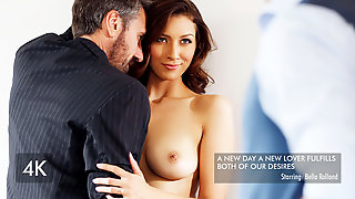 Bella Rolland & Steve Holmes In Bella Is Spoiled By Her Husband - NewSensations