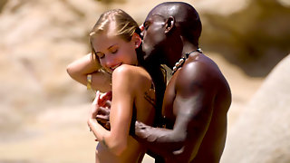 Tiffany Tatum Banged By A Black Dude By The Ocean