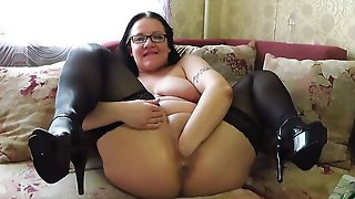Vaginal Fisting And Bottle In Pussy, Mature Busty Milf