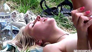 Slovakian Public Sex In Park