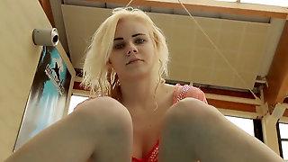 Katya Okuneva Underwater Whorish Nubile Naked