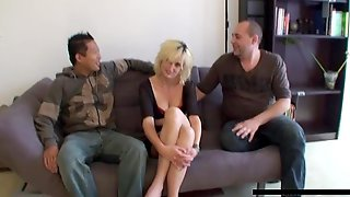 Swiss Cheats On Husband With Two Men