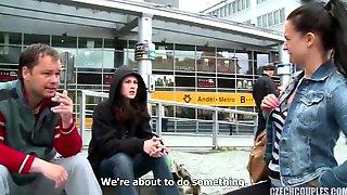 Slovakian Couple Take Money For Sex