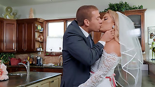 Candice Dare Wedding Day Ends With Hot Sex