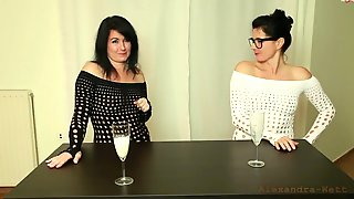 Two Brunette Sluts Take Multiple Anal Creampies