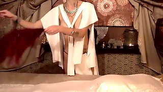 Busty Preggo Enjoys Czech Tantra Massage