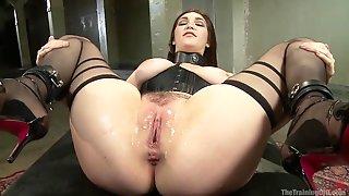 Holly Michales Slave Training BDSM Slave Humillation