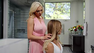 Transangels Kenzie Taylor Casey Kisses Michael Stax Ringing Her Wedding Bells Part 1