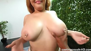 Big Beautiful Woman With Big Beautiful Woman Bum And Perfect Big Naturals Gets Freaky During Audition