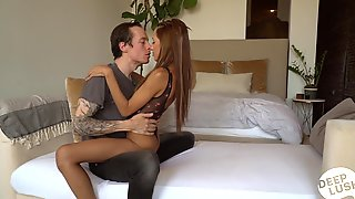 Slender Blonde Hime Marie Enjoys A Thick Hard Penis Of Tattooed Fellow Owen Gray