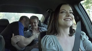 Wild Slut With Big Ass Sovereign Syre Loves Hardcore Bisexual MMF Threesome