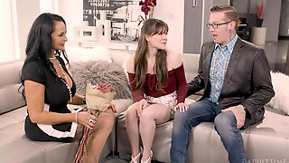 Lucky Older Guy Sticks His Dick In Both Rita Daniels And Alison Rey
