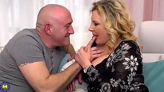 Italian Housewife, Valentina Is Cheating On Her Husband With His Boss, Every Once In A While