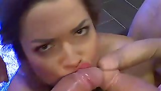 Huge Breast Chloe Lamoure Gets Cums And Bukkakes