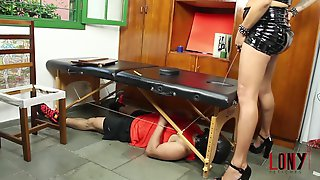 Rebeka Marques Pisses And Dominates The Mouth Of A Sub In Golden Nectar 7 By LonY Fetiches
