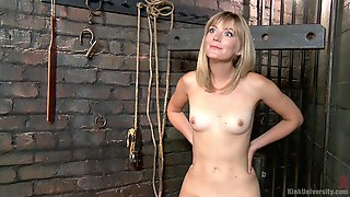 Helpless Mona Wales Loves To Be Used As A Sex Slave And Gets Spanked