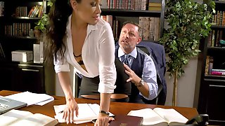 Hardcore Fucking In The Office With Asian Secretary Vicki Chase