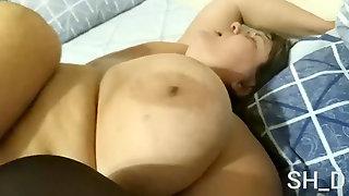 Messy sex with Chubby plus-size mega-slut