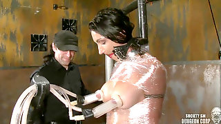 Wenona Has Her Breastmilk Pumped By A Tugging Machine