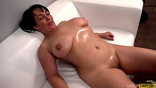Huge-Titted Mature Mega-Bitch At Audition