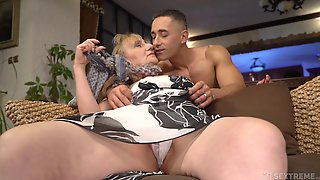 That Granny Is One Hot Package And She Only Fucks Younger Men