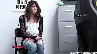 Kinky Bootyful Vera King Moans As Dirty Cop Fucks Her Doggy Darn Great