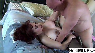 Karen Kougar Is A Smoking Super-fucking-hot, Mature Chick With Crimson Hair, Who Luvs Xxx Romp A Pile