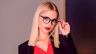 Lika Star, Horny Secretary Craves Anal