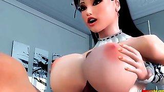 Maid Gets Blacked -  HORNY 3D XOZILLA PORN MOVIES