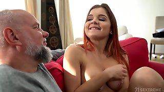 Kinky Grandpa Fucks Horny Teen Girl