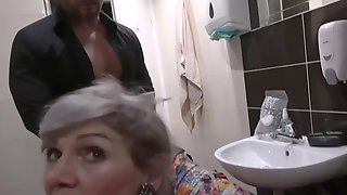 Experienced Czech Granny Is Sucking Cocks For Cash And Sometimes Even Asks To Get Fucked