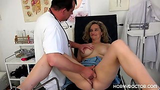 Ameli Is Using An Opportunity To Fuck Her Horny Doctor, Until They Both End Up Satisfied