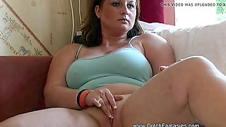 Plump Wife Senses Horny With Husband