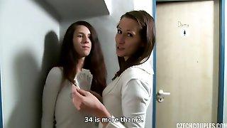 Busty Model In Bathrooms