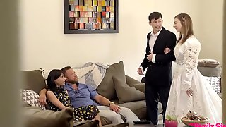 Step Sisters Proposal - 18yo Teen Bride Tiffany Watson Gets Ready For The Wedding