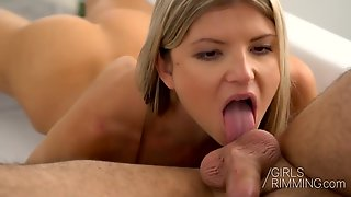 Rimming Memories - Her First Rimjob With Perky Titted Gina Gerson